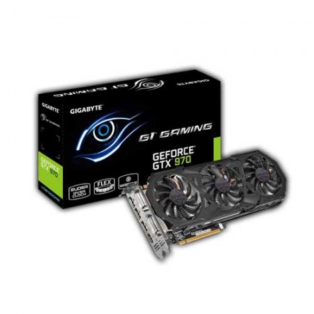 Gigabyte GTX970 4GB G1 Graphic Card GV-N970G1 GAMING-4GD