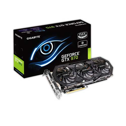 Gigabyte GTX970 4GB OC Graphic Card GV-N970WF3OC-4GD