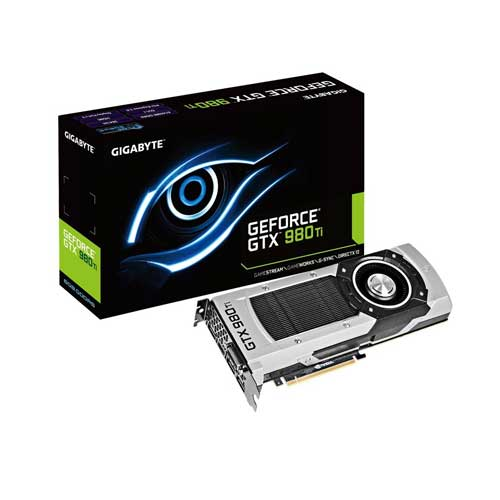 Gigabyte GTX980TI 6GB Graphic Card GV-N98TD5-6GD-B