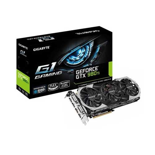 Gigabyte GTX980TI 6GB Graphic Card GV-N98TG1 GAMING-6GD