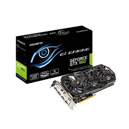 Gigabyte G1 Gaming GeForce GTX 960 GV-N960G1 GAMING-2GD Graphi Card