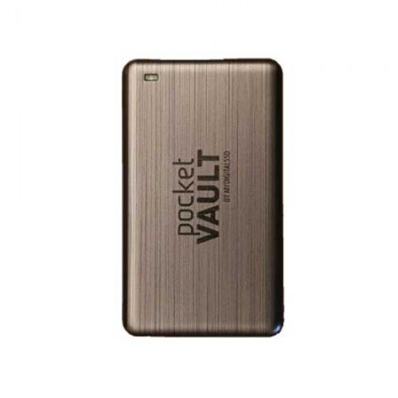 MyDigitalSSD Pocket Vault 128GB External SSD