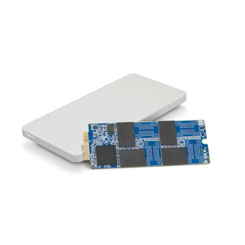 OWC 480GB Aura 6G SSD and Envoy Pro Storage Solution
