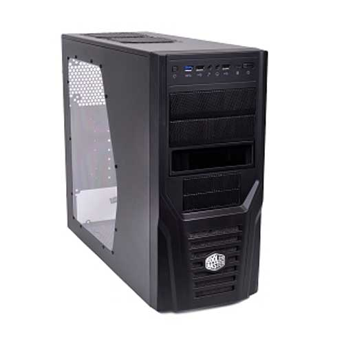Cooler Master Elite 431 Plus Mid Tower Computer Cabinet