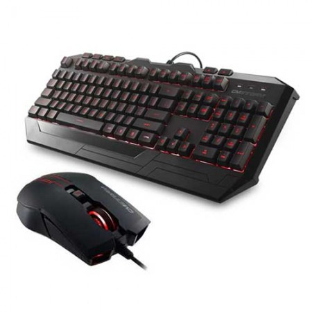 CM Storm Devastator RED LED Gaming Keyboard and Mouse Combo
