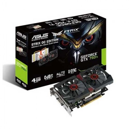 ASUS STRIX-GTX750TI -DC2OC-4GD5 Graphic Card