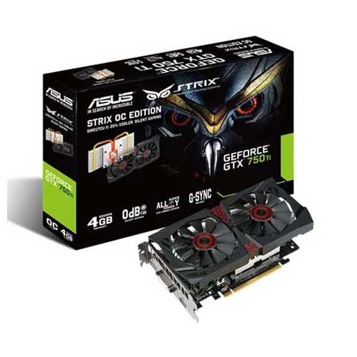 ASUS STRIX-GTX750TI -DC2OC-4GD5 Graphic Card