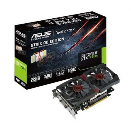 ASUS STRIX-GTX750TI -OC-2GD5 Graphic Card