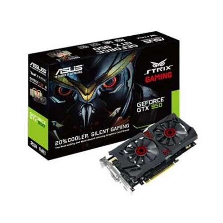 ASUS STRIX-GTX950-DC2OC-2GD5 Graphic Card