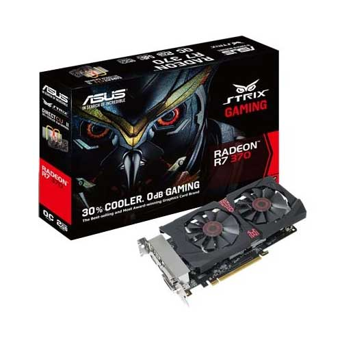ASUS STRIX-R7370-DC2OC-2GD5-GAMING Graphic Card