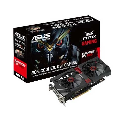 ASUS STRIX-R9380-DC2OC-4GD5-GAMING Graphic Card