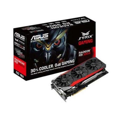 ASUS STRIX R9390X-DC3OC-8GD5-GAMING Graphic Card