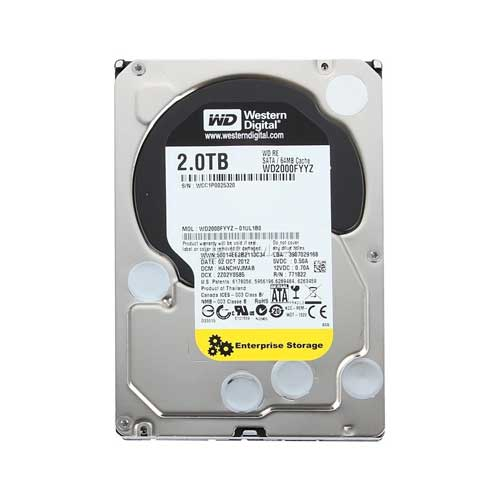 Western Digital RE WD2000FYYZ 2TB 7200 Enterprise Hard Drive