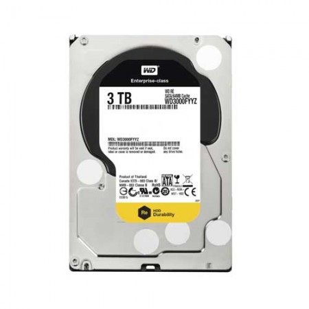 Western Digital RE WD3000FYYZ 3TB 7200 RPM Enterprise Hard Drive
