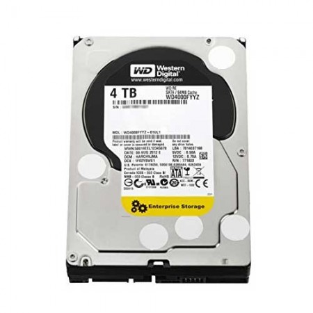 Western Digital RE WD4000FYYZ 4TB 7200 RPM Enterprise Hard Drive