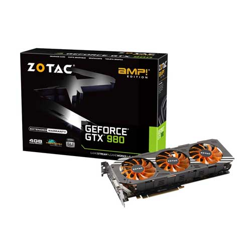 Zotac GTX980 4GB amp Graphic Card ZT-90204-10P
