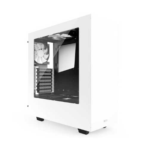 NZXT Source 340 S340 White Steel ATX Mid Tower Case
