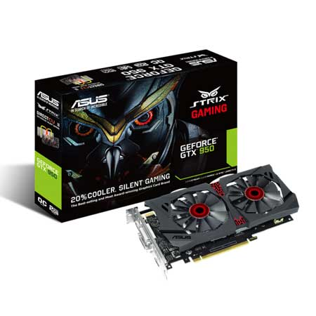 ASUS GTX950 STRIX-GTX950-DC2-2GD5-GAMING Graphic Card