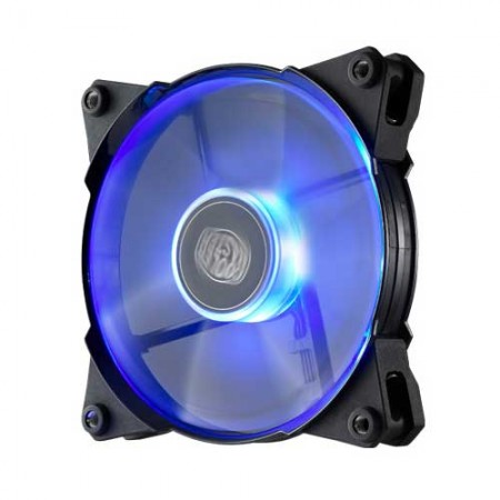 Cooler Master Jetflo 120mm Blue LED Fan R4-JFDP-20PB-R1