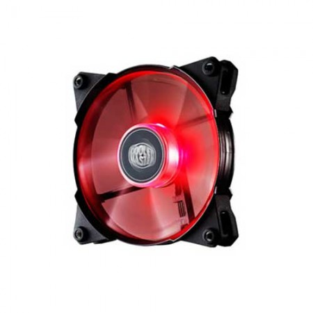 Cooler Master Jetflo 120mm Red LED Fan R4-JFDP-20PR-R1