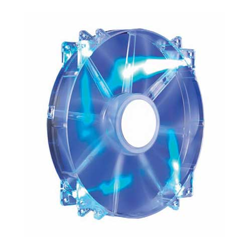 Cooler Master MegaFlow 200mm Red Led Silent Fan R4-LUS-07AB-GP