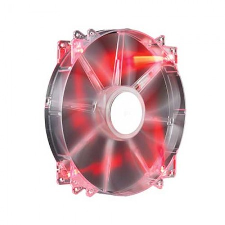Cooler Master MegaFlow 200mm Red Led Silent Fan R4-LUS-07AR-GP