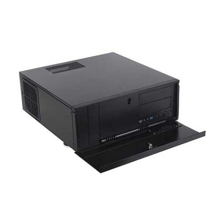Silverstone Grandia GD07 Home Theatre Server Cabinet SST-GD07B