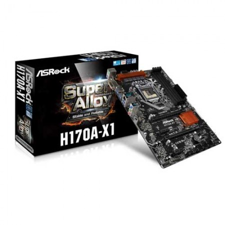 ASRock H170A-X1 Intel Z170 ATX Motherboard