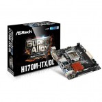 ASRock H170M-ITX/DL Intel H170 Mini ITX Motherboard