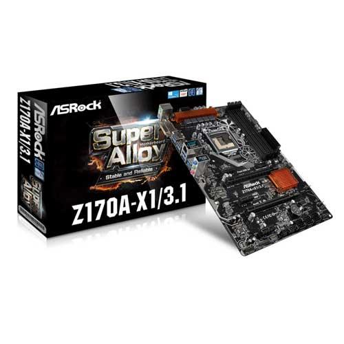 ASRock Z170A-X1 Intel Z170 ATX Motherboard