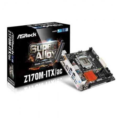 ASRock Z170M-ITX/ac Intel Z170 HDMI Mini ITX Motherboard