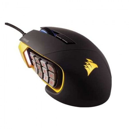 Corsair Scimitar RGB Optical MOBA/MMO Gaming Mouse CH-9000091-AP