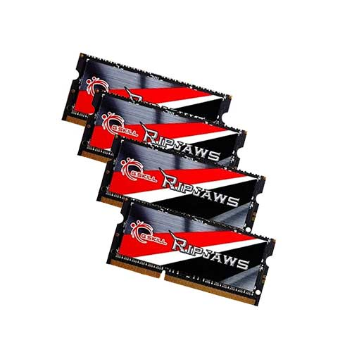 G.Skill SO DIMM Ripjaws Series F3-1866C10Q-32GRSL 8GB DDR3 Notebook RAM Memory