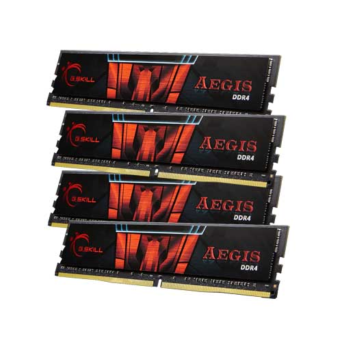G.Skill Gaming Series Aegis F4-2400C15Q-64GIS 16GB DDR4 RAM Memory
