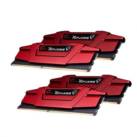 G.Skill RipjawsV F4-2666C15Q-64GVR 16GB DDR4 RAM Memory
