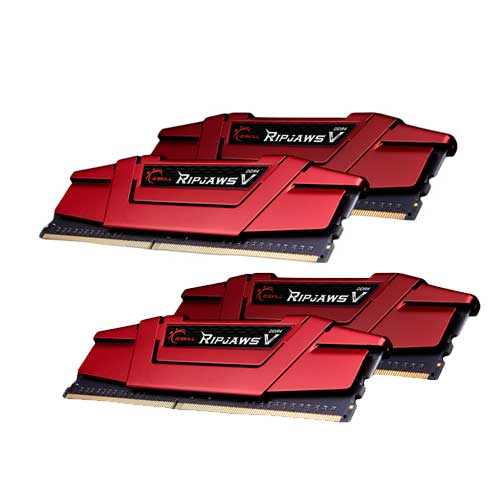 G.Skill RipjawsV F4-3000C14Q-64GVR 16GB DDR4 RAM Memory
