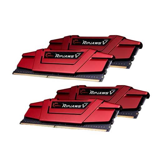 G.Skill RipjawsV F4-3000C15Q-64GVR 16GB DDR4 RAM Memory