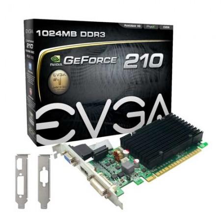 EVGA GeForce 210 DDR3 1GB Graphic Card 01G-P3-1313-KR