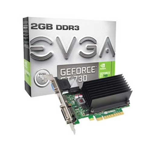 EVGA GeForce GT 730 2GB Graphic Card 02G-P3-1733-KR