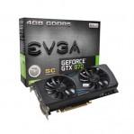 EVGA GeForce GTX 970 SC GAMING ACX 2.0 Graphic Card 04G-P4-2974-KR