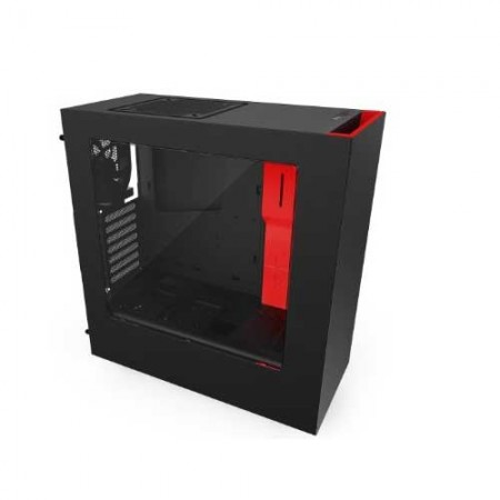 NZXT-Source-340-S340-Black-Read-Steel-ATX-Mid-Tower-Case
