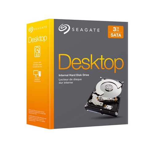 "Seagate Barracuda STBD3000100 3TB 7200 RPM 64MB Cache SATA 6.0Gb/s 3.5"" Internal Hard Drive Kit Retail Kit"