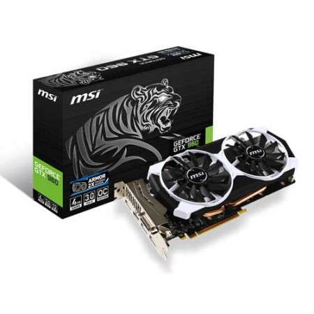 MSI GTX 960 4GD5T OC Tiger Edition Graphic Card