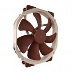 Noctua NF-A15 PWM 140mm Premium Quiet Quality Fan with Round Frame, AAO Technology