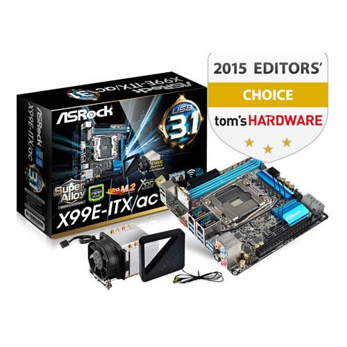 ASRock X99E-ITX/ac LGA 2011-v3 Intel X99 Mini ITX Motherboard