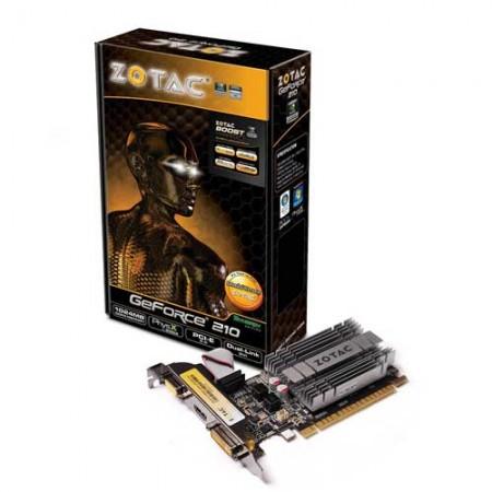 Zotac GeForce GT 210 1GB DDR3 Graphic Card ZT-20313-10L