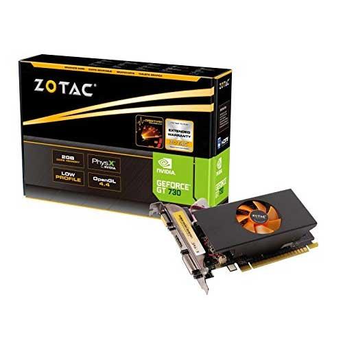 Zotac GeForce GT 730 2GB LP Graphics Card ZT-71101-10L