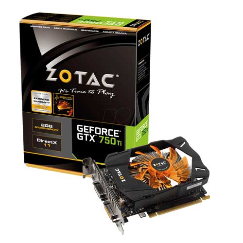 Zotac GeForce GTX 750 Ti ZT-70601-10M Graphic Card