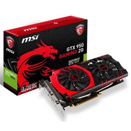 MSI GeForce GTX 950 GAMING 2G Graphic Card