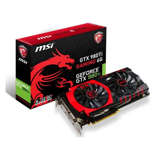 MSI GeForce GTX 980 Ti GAMING 6G 6GB Graphic Card